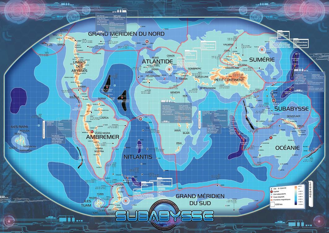 Subabysse RPG map v2.0 by DePassage