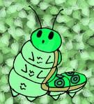 random fatterpillar sketch (read description)