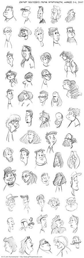Faces: WonderCon 2007