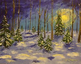 Winter Sun by Oksana007