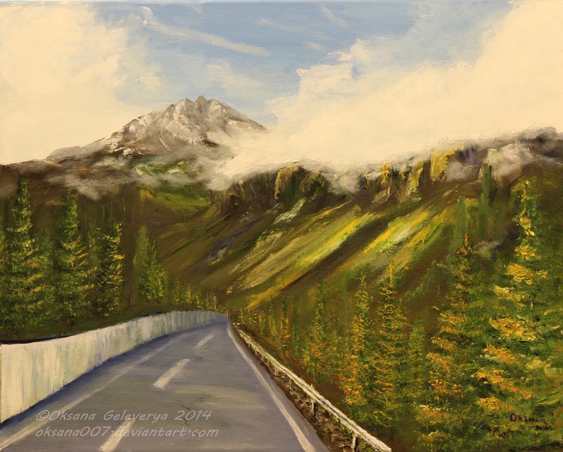 Alpine road - Austria by Oksana007
