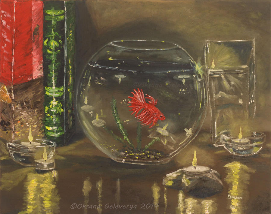Fish Thoughts by Oksana007