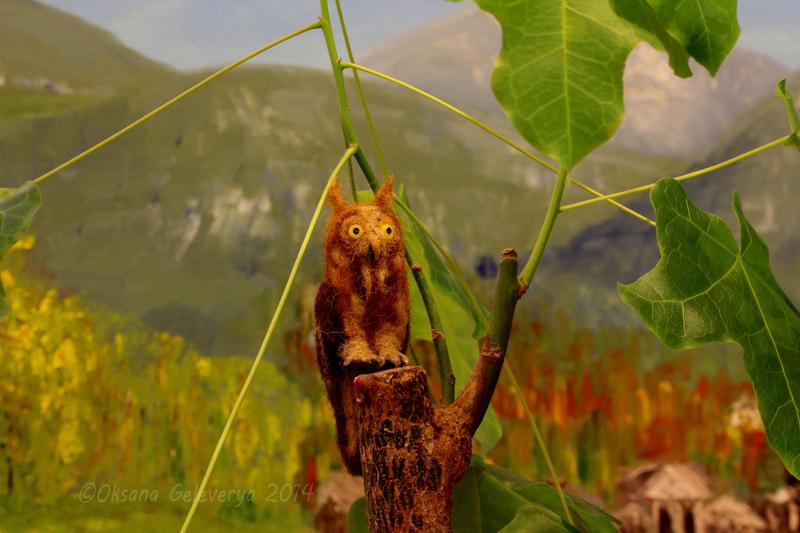 Long-eared owl by Oksana007