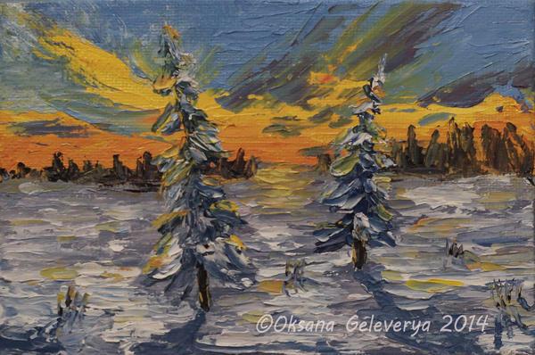 Two Pine by Oksana007
