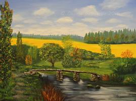 Autumn - Oil by Oksana007