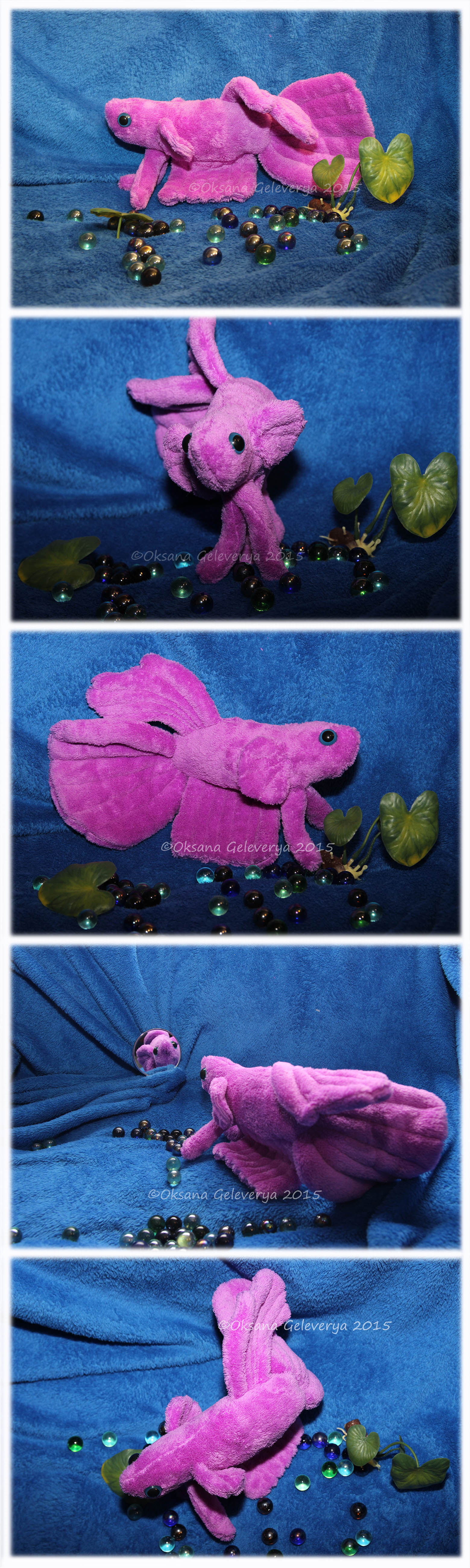 Betta fish plush pet by oksana007 on deviantart for Betta fish toys