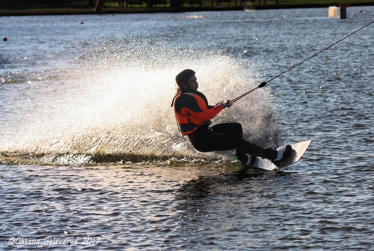 Cable Water Skiing #5 by Oksana007