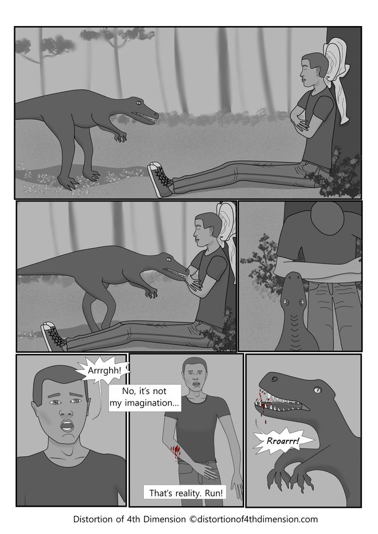 Distortion of 4th Dimension - Page 11 Chapter 3 by Oksana007