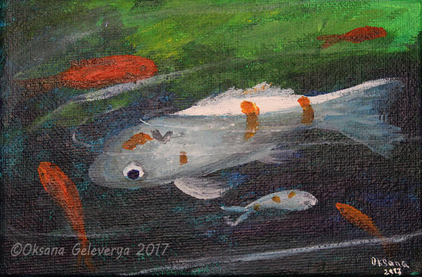 Koi Fishes #1 by Oksana007