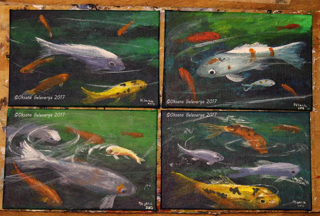 Koi Fishes by Oksana007