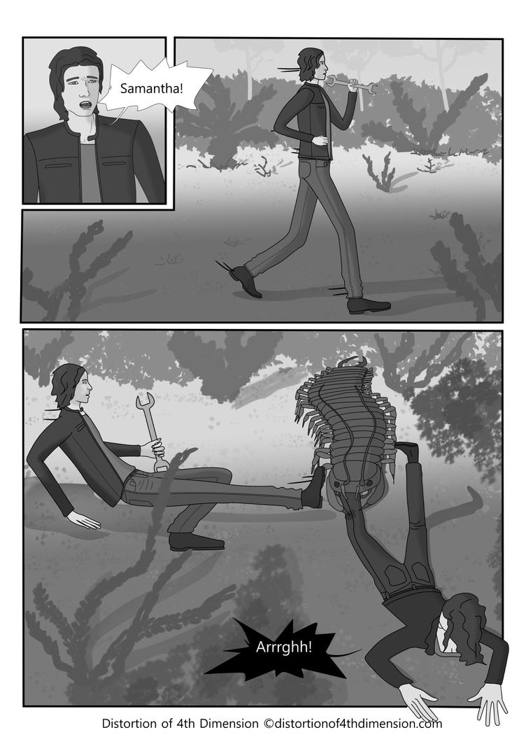 Distortion of 4th Dimension - Page 21 Chapter 3 by Oksana007