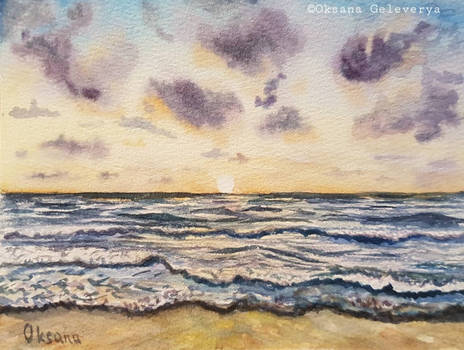 Sea Sunset - The End Of Summer