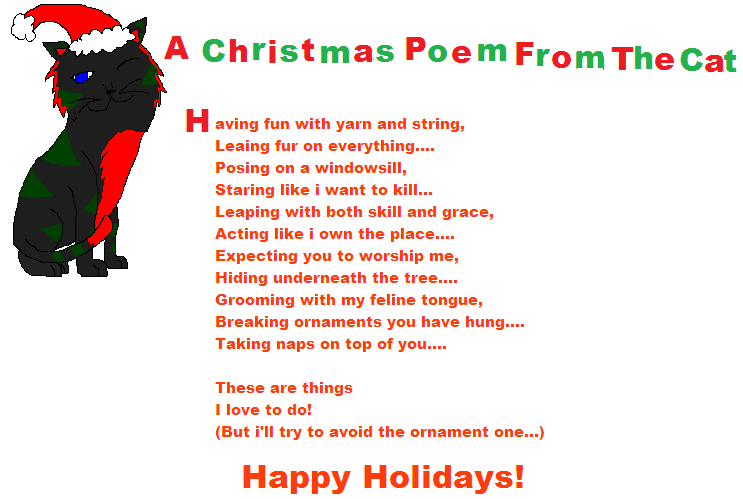A Christmas Poem From Razor by Taxy1121