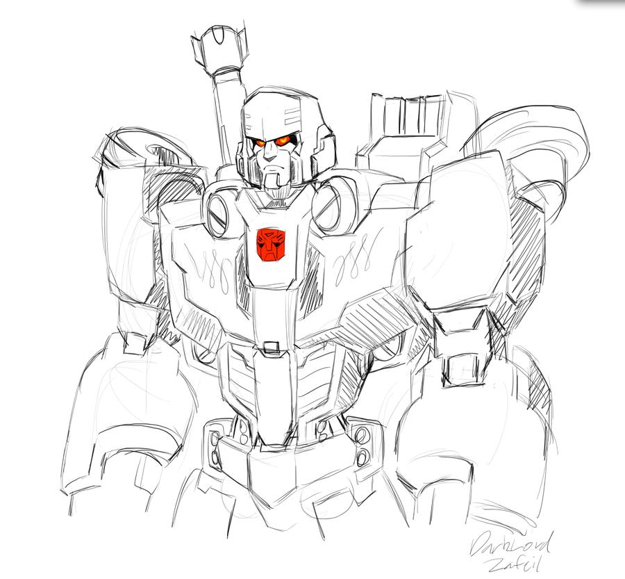 Megatron the Autobot by DarkLordZafiel