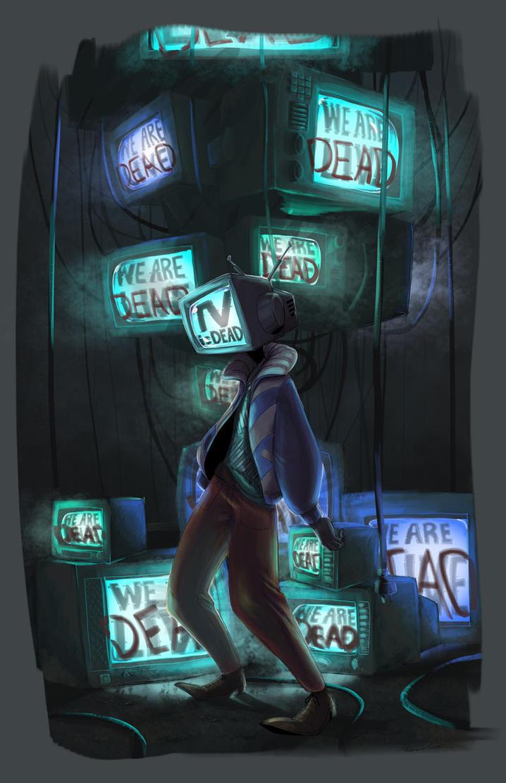 TV is Dead by DarkLordZafiel
