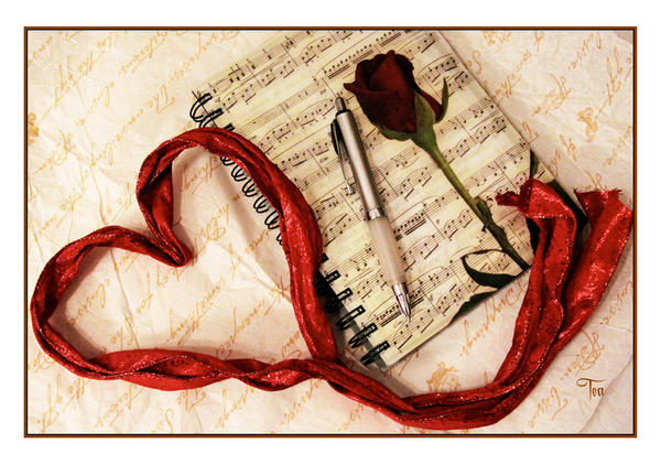 For the Love of Writing by TeaPhotography