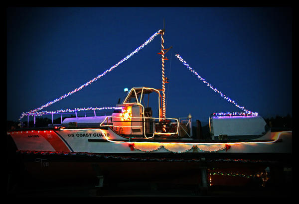 Coast Guard Christmas by TeaPhotography