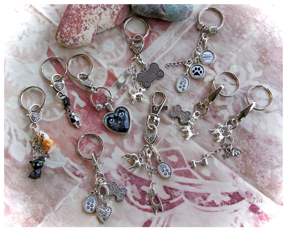 Key Chains or Clips NEW for THE SHELTER PROJECT by TeaPhotography