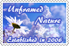 Anniversary Stamp for Unframed-Nature by @Stygma by TeaPhotography