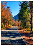 Driving The Autumn Mountains