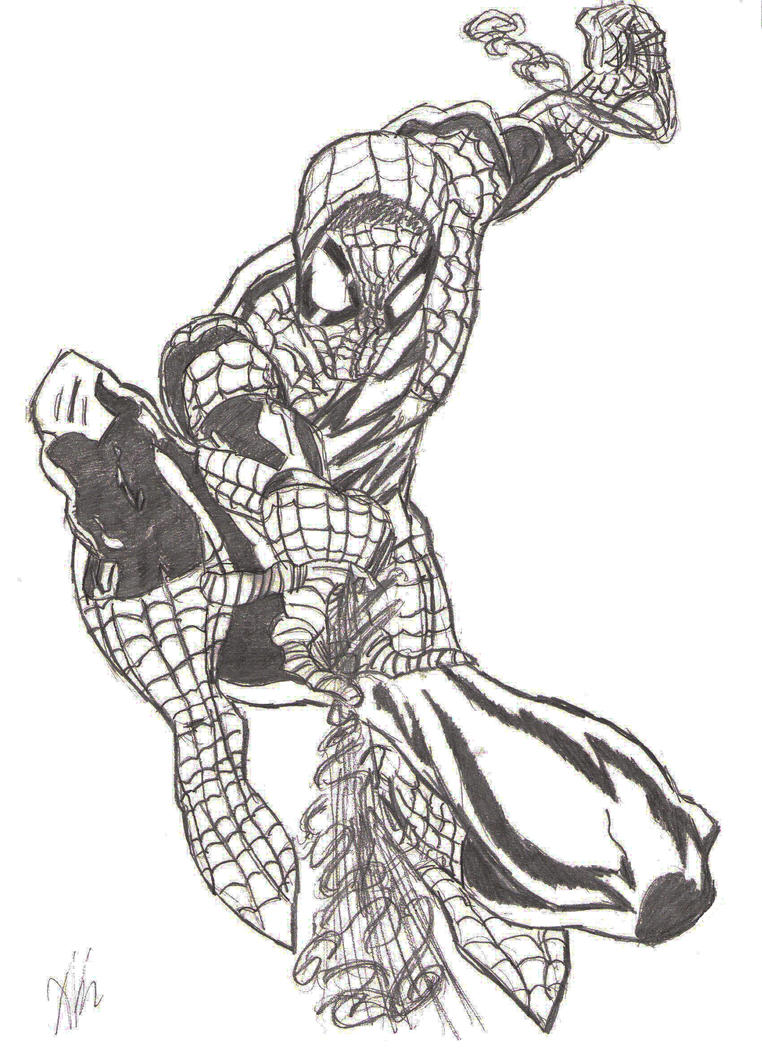 Spidey by The-Rogue-Whisper