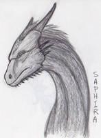 Saphira by aliengoddess