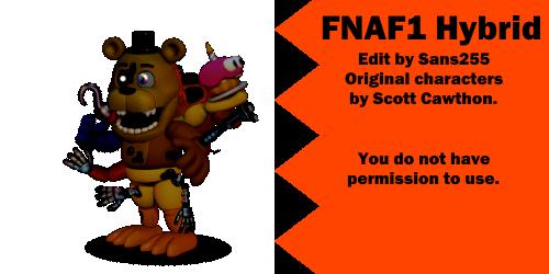 Fnaf Edits Fnaf1 Hybrid By Sans255 On Deviantart