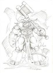 Minotaur Warrior 001 by dbull