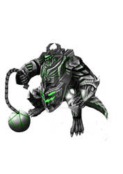 Greater Demon (Mecha) green
