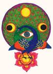 Peacock Mandala - Melek Taus