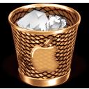 steam punk mac trash icon full by off10hot