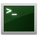 old school terminal icon by off10hot