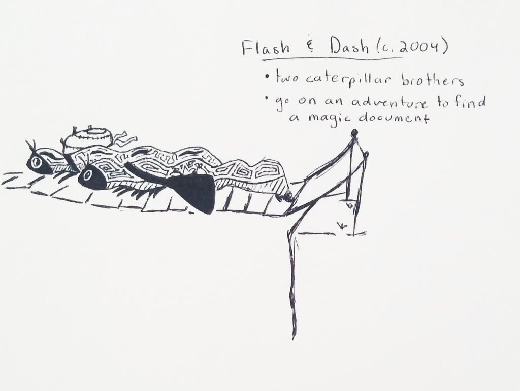 OC Inktober Day 3 - Flash and Dash by Skyleap