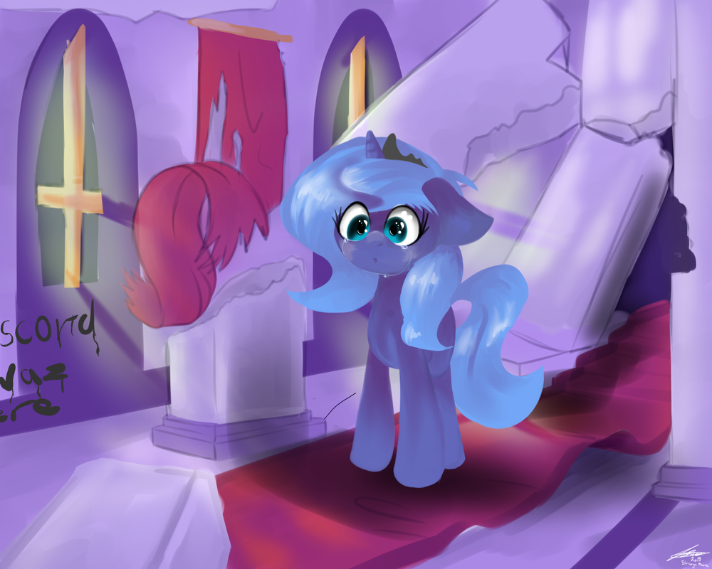 The Last Time (line-less) by StrangeMoose