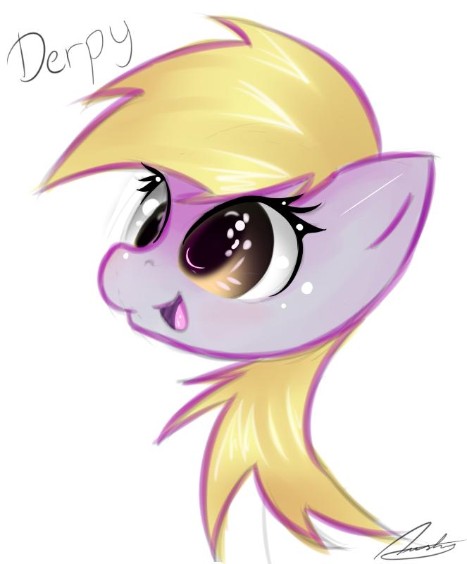 Derpy Doodel by StrangeMoose