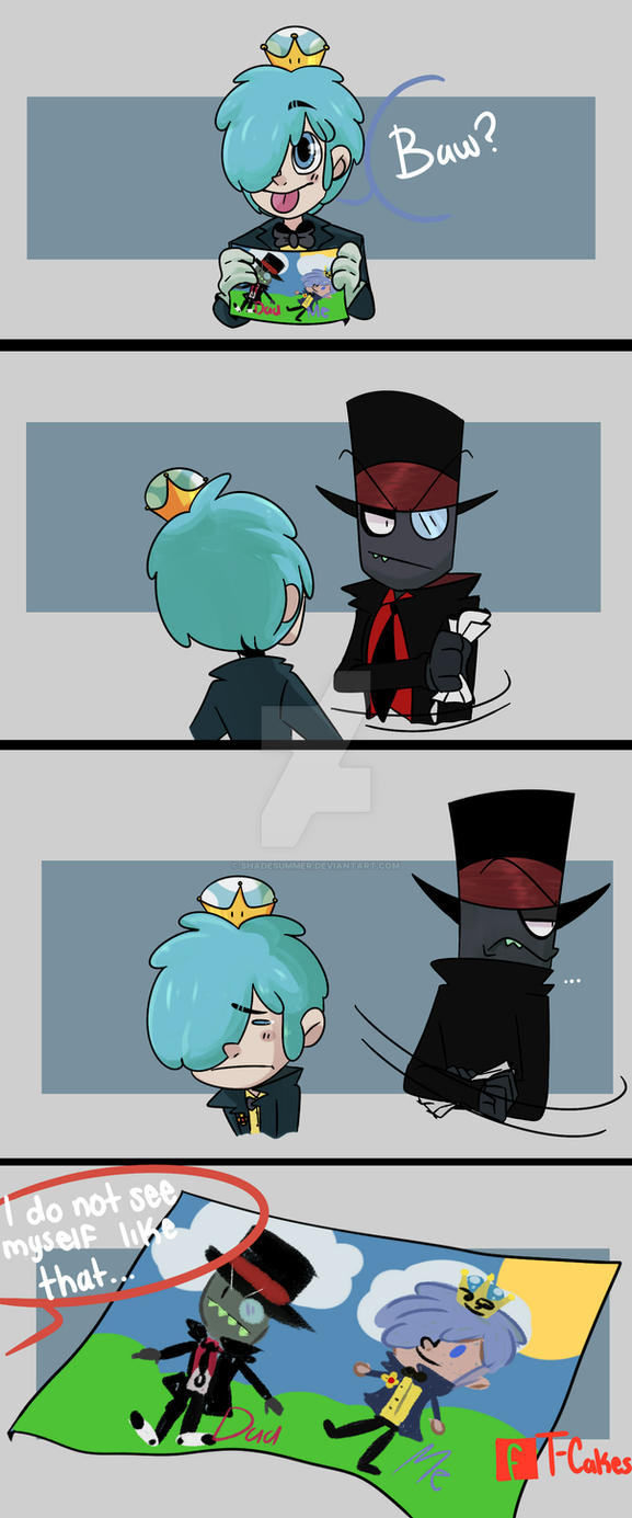 villainous-the drawing of 505-comic by Shadesummer on DeviantArt