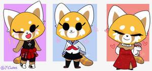 Another Retsuko Outfits (Aggretsuko)