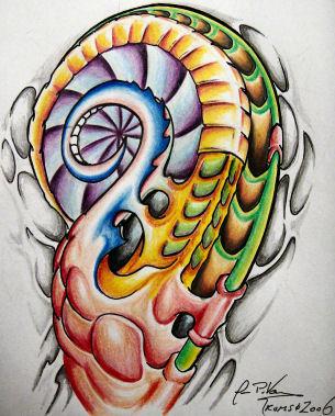 biomech2 - shoulder tattoo