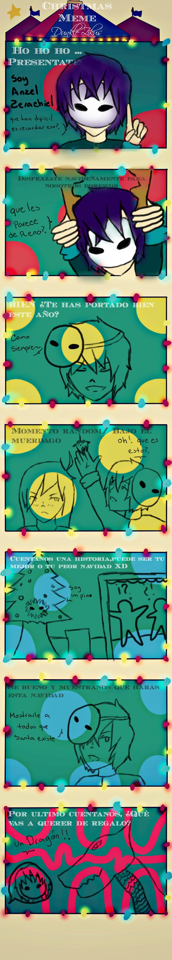 meme navidad Anzel by KaiyaKishimoto
