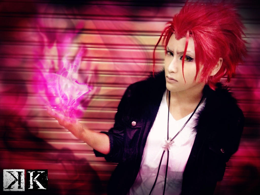 RED KING K Project by  K Project Blue King Cosplay