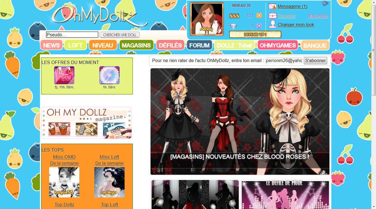 Oh My Dollz Fashion Week