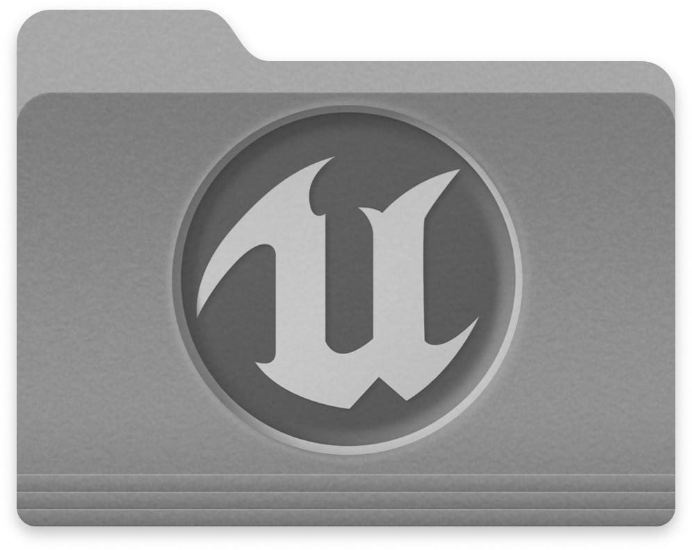 Unreal Engine Folder (Simple) by EtherialIce on DeviantArt