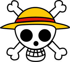 Jolly Roger de Mugiwara Luffy One Piece by KalenX