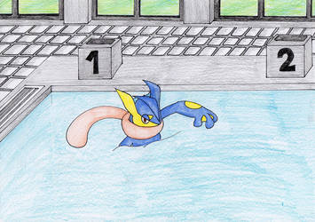 A A  Event : Laps in the pool by the-cavern-gied