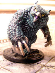 Owlbear Painted by the-cavern-gied