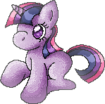 Filly Twilight sprite by KannaTC