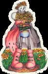 Scarf n Flowers