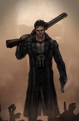THE PUNISHER by indiosamurai