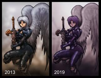 Manga Angel Redux by indiosamurai