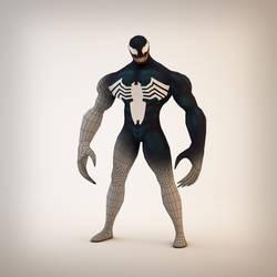 Venom Wireframe by indiosamurai